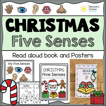 Five Senses Christmas Posters and Book