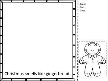 Five Senses Christmas book