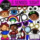 Five Senses Clipart Bundle {Creative Clips Clipart}