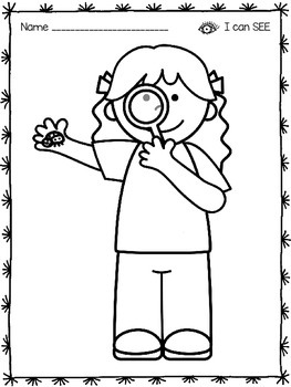 Five Senses Coloring Pages By Kristen Davis Teachers Pay Teachers