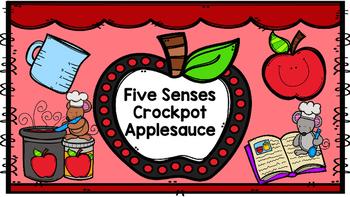 Five Senses Crockpot Applesauce