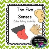Five Senses Cube Rolling Activity