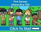 Five Senses Distance Learning Interactive PDFs