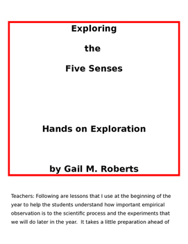 Five Senses Exploration