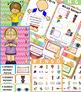 FIVE SENSES Fact Pack 5 SENSES Reading Writing Flip Books Games Posters Cards