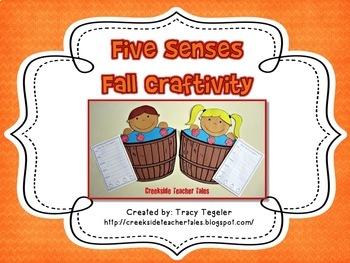 Five Senses Fall Craftivity