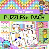 FIVE SENSES Games 5 SENSES Memory Bingo Puzzles