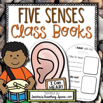 Five Senses Class Books