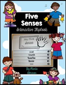 Five Senses Interactive Flipbook