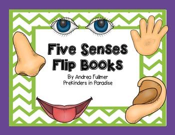 Five Senses Flipbooks