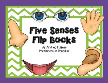Five Senses Flipbooks