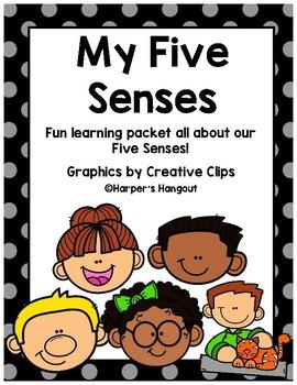 Five Senses Fun Packet