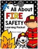 All About Fire Safety Learning Packet