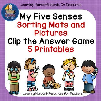Five Senses - Games and Printables