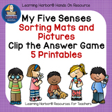 Five Senses - Games and Printables