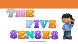 Five Senses Google Slides Lesson