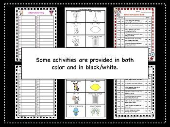 Health | Five Senses| Differentiated Activities | 5 Senses Activities