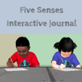 Two Weeks of Lessons Five Senses Interactive Journal, Asse