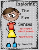 Five Senses Interactive Journal and Anchor Charts