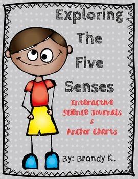 Five Senses Interactive Journal and Anchor Charts