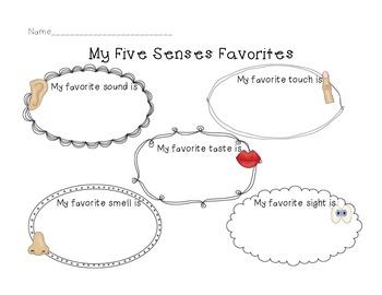 Five Senses Interactive Mini Unit