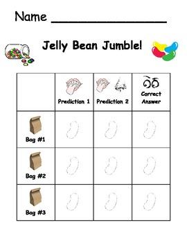 Five Senses: Jelly Bean Jumble