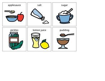 Five Senses Lesson on Taste (Life Skills/Social Skills)