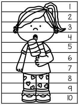 Five Senses Letter Puzzles