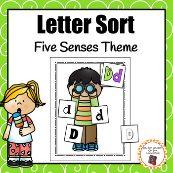 Five Senses Letter Sort - S