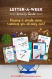 Five Senses Letter-a-Week Activity Guide