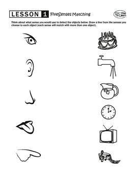 Five Senses Matching