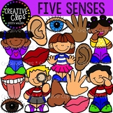 Five Senses Mini Bundle {Creative Clips Clipart}
