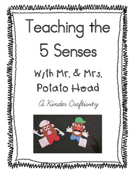 Five Senses Mr. Potato Head craftivity