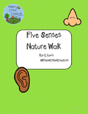 Five Senses Nature Walk Scavenger Hunt