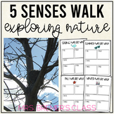 Five Senses Nature Walk for Spring, Summer, Fall, and Winter