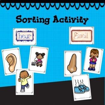 Five Senses Activities PK and K
