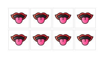 Patterns: Five Senses Pattern Cards BUNDLE