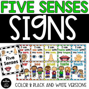 Five Senses Signs