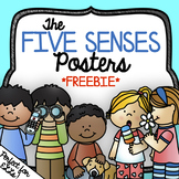 Five Senses Posters Freebie *2 sets* with or without body