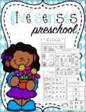 Five Senses Preschool Printables