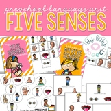 Five Senses Preschool Language Unit