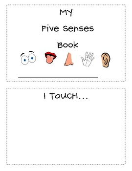 Five Senses Printable Activities