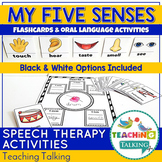 Five Senses Activities with Graphic Organizer