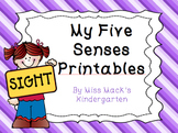 Five Senses Printables
