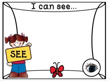Five Senses Printables
