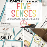 FIVE SENSES SCIENCE MATERIALS