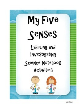 Five Senses Science Notebook