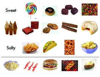 Five Senses- Sense of Taste Sorting  ScienceTable Games