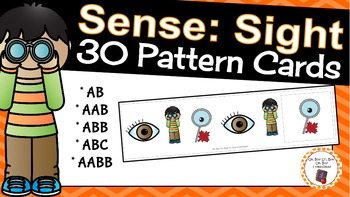 Patterns: Five Senses Sight Pattern Cards