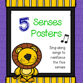 Five Senses Sing-Along Posters
